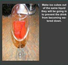 Speciale ijsklontjes ;)