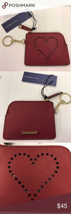 Rebecca Minkoff Coin Purse Rebecca Minkoff Deep Red Coin Purse with ❤️. NWT *No trades* Rebecca Minkoff Accessories