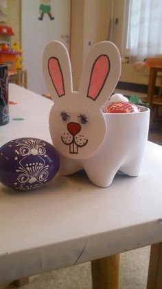 bottle bunny craft      Crafts and Worksheets for Preschool,Toddler and Kindergarten