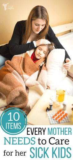 If you kid as a cold croup stomach ache throwing up diarrhea fever or even growing pains these are the 10 items every mother will need to care for her sick kids. Sick Toddler, Sick Baby, Sick Kids, Parenting Toddlers, Parenting Hacks, Parenting Articles, Toddler Throwing Up, Croup, Toddler Meals