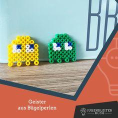 Diese Ideen mit Bügelperlen sind mit Kindern supereinfach nachzumachen. Einfach die Farben zusammensuchen und die Bilder nachbauen. Material und Informationen dazu findest du im Jugendleiter-Blog! Blog, Material, Ladder, Young Adults, Simple, Colors, Kids, Ideas, Blogging