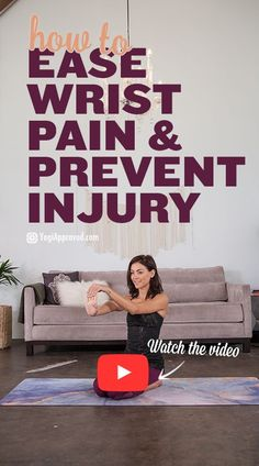 Wrist pain is a common issue in yoga. Learn techniques and stretches to ease wrist pain, plus yoga poses to strengthen wrists and prevent injury. Pilates Workout, Workouts, Strengthen Wrists, Bikram Yoga, Yin Yoga, Yoga Meditation, Yoga At Home, Restorative Yoga, Types Of Yoga