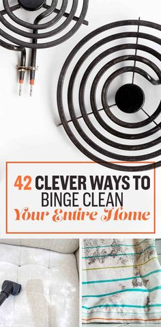 14. Clean a glass cooktop with minimal scrubbing: Sprinkle on baking soda, let it soak with a damp towel for about 15 minutes, then rub away.