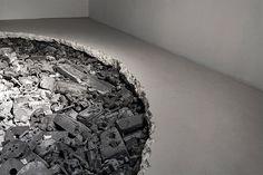 Decaying Sculptures by Daniel Arsham | Inspiration Grid | Design Inspiration