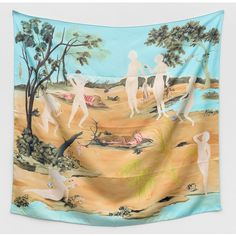 Sanam Khatibi - Wild Mink, 2018 --> silk twill scarf with hand-rolled hemming, 113 x 120 cm, edition of 75 copies Basic Instinct, Seductive Women, Nymph, Mink, Art For Sale, Buy Art, Digital Prints, Contemporary Art, Tapestry