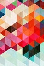 NEON geometric wallpaper ♥