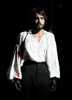 Tom Mison- Be still my beating heart! Production Photo from Henry IV
