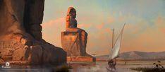 ArtStation - Assassin's Creed Origins, Martin Deschambault