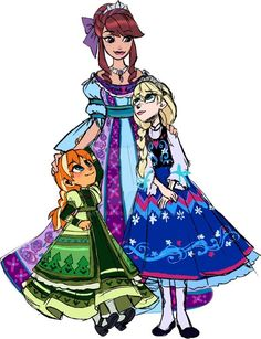 LE doll design Anna, Elsa and Idunna by Sakuyamon on DeviantArt Disney Princess Fashion, Disney Princess Dresses, Princess Art, Disney Style, Disney Princesses, Sailor Princess, Walt Disney, Disney Love, Nickelodeon Cartoons