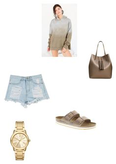 """""""Untitled #56"""" by jazzy-jazzz on Polyvore featuring Out From Under, MANGO, Birkenstock and Michael Kors"""