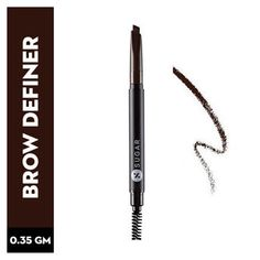 SUGAR Arch Arrival Brow Definer - 01 Jerry Brown (Medium Brown): Buy SUGAR Arch Arrival Brow Definer - 01 Jerry Brown (Medium Brown) Online at Best Price in India | Nykaa Deep Brown, Brown And Grey, Jerry Brown, Performance Makeup, Makeup Must Haves, Mineral Oil, Medium Brown, Brows, Beauty Makeup