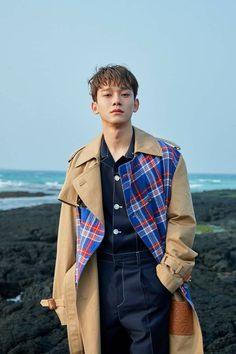 "Kim Jongdae (Chen) for mini album ""April, and a flower"" Exo Chen, Baekhyun Chanyeol, Daejeon, Luhan And Kris, Kim Jong Dae, Exo Official, Exo Luxion, Kim Minseok, Exo Ot12"