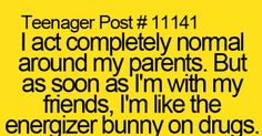 ~TeenagerPost~this couldn't be more correct | Relatable Posts | Pinterest | Parents, Other and My life