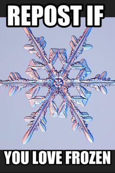 Repost if you love Frozen!!! ❤❤❤❤