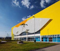 Ruy Ohtake Arquitetura e Urbanismo: Centro cultural, Jacareí, SP - Arcoweb