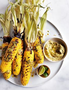 Grilled Corn Recipe on Pinterest | Corn Recipes, Mexican Grilled Corn ...