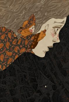 "cloudienine: "" HomEweRk from a while ago… Cover for the Russian folktale, Vasilisa the Beautiful. Russian Art, Art Inspo, Fantasy Art, Cute Art, Illustration Art, Art, Art Wallpaper, Beautiful Art, Aesthetic Art"