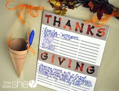Thanks and Giving - Teaching the Importance of Being Thankful and Paying Blessings Forward