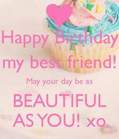 happy birthday best friend - Google Search #compartirvideos #happybirthday