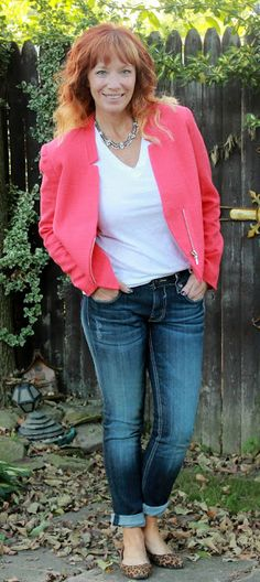 Fashion Fairy Dust: Tweed Moto Jacket