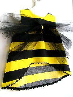Inspiración para un disfraz de abeja.