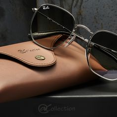 Premium frames meet a premium case // See how the @ Collection takes exclusivity to the next level // Only available online // Link in bio Men Sunglasses Fashion, Fashion Eye Glasses, Cute Sunglasses, Ray Ban Sunglasses, Cute Glasses Frames, Lunette Style, Sunglass Frames, Mens Fashion, Runway Fashion