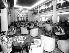 SS America - Photo Page of her Interior's