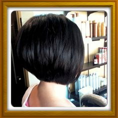 Lovely stacked bob by Loft Owner Lori Stephens