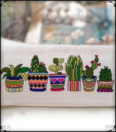 nakış Kan # cross-stitch Professional Photo Albums Every wedding couple dreams of a. Cactus Cross Stitch, Cross Stitch Heart, Cross Stitch Flowers, Modern Cross Stitch, Cross Stitching, Cross Stitch Embroidery, Embroidery Patterns, Hand Embroidery, Cross Stitch Patterns