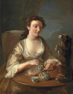 Французский живописец Филипп Мерсье (1689-1760)