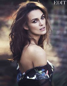 Keira Knightley, photographed by David Bellemere for The Edit, Oct 30, 2014.