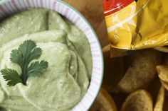 Ninfa's Green Sauce (Creamy, spicy, smooth avocado salsa!)