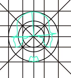 Asi seria, con la otra retícula, le hice unos ajustes en algunos trazos para que siguiera esta retícula.