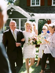 Utah backyard wedding, Photo by Leo Patrone...dress