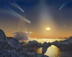 A new study indicates that the bombardment of Earth nearly 4 billion years ago by giant asteroids would not have been sufficient to extinguish early life on the planet. The study has important implications in understanding the timing of life& origin on Earth.