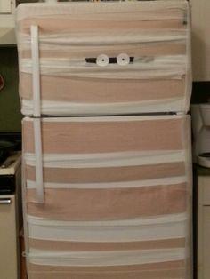 refrigerator mummy decoration