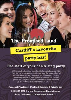 Cardiff's best stag and hen private party bar