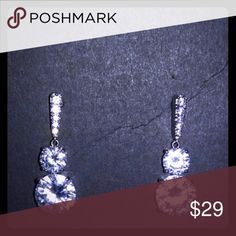 Selling this Silver Drop Earrings on Poshmark! My username is: mks0560. #shopmycloset #poshmark #fashion #shopping #style #forsale #R.H. Macy & Co #Jewelry