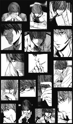 Light Yagami. I just LOVE it when he THINKS. < yes this is a great compilation!