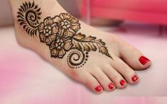 Nice 50 Amazing Henna Design for Your Hand and Foot https://outfitmad.com/2018/02/28/50-amazing-henna-design-hand-foot/