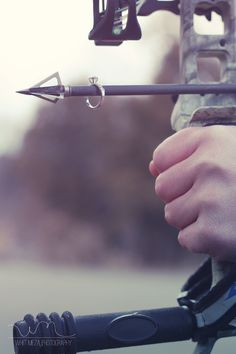 Bow Hunting Engagement. The Hunt is Over. Engagement Session. #hunting - I know someone who would probably like this. I don't know how I feel about it.