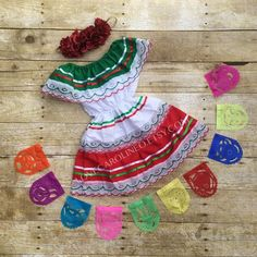 Baby & Toddlers Mexican Dress (Mexican Birthday Cinco De Mayo Baby Fiesta Outfit Children's Dress Bo