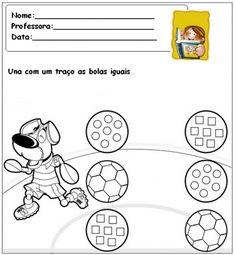 Atividades para pré-escolar