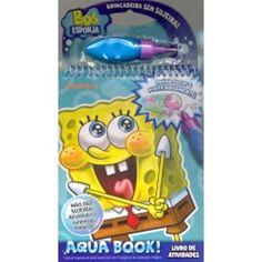 Bob Esponja Aqua Book - Vale Das Letras - Livrarias Curitiba