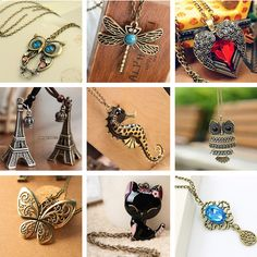 Vintage Necklaces Women Owl Feather Heart Butterfly Cat Pendant Necklace Antique Collares Fashion Jewelry Bijoux One Direction //Price: $7.95 & FREE Shipping // Get it here ---> https://bestofnecklace.com/vintage-necklaces-women-owl-feather-heart-butterfly-cat-pendant-necklace-antique-collares-fashion-jewelry-bijoux-one-direction/    #best_of_Necklace