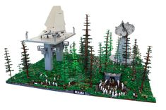 Battle of Endor | by Kevin Wollert