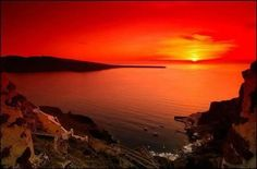 #Santorini Sunset - #Greece ☆