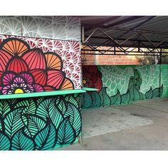 Shared by: on Aug 2015 @ – Graffiti World Murals Street Art, Graffiti Murals, Street Art Graffiti, Art Public, School Murals, Mural Wall Art, Painting Murals On Walls, Best Street Art, Fence Art