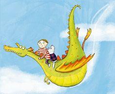 Kate-Daubney-Advocate-Art-Illustration-Agency-Childrens-illustration-Dragon.jpg (512×422)