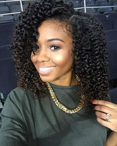 Natural Hair Simple Braid Out using Cantu Coconut Curling Creme and about 6 braids